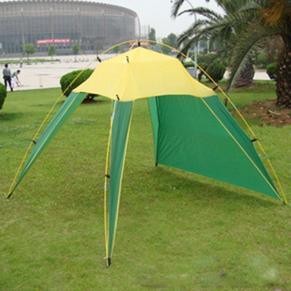 Wholesale- Sun Awning Tenta Shade Canopy For Beach Fishing Travel Tente Barracas De Camping Tenda Waterproof Anti-uv Portable Folding Tipi