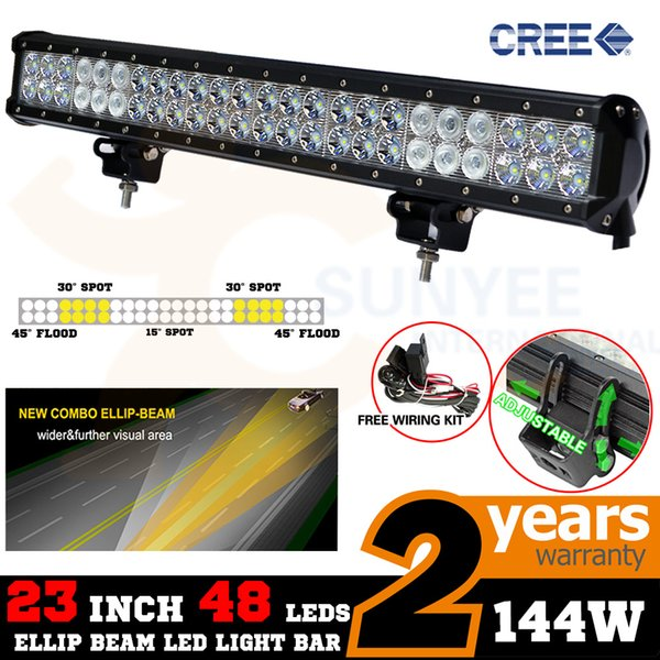 Car Truck Fog Driving Lights Auto Parts And Vehicles Wiring Auto Parts Accessories 22 144w Car Led Work Light Bar Flood Spot Offroad Atv 4x4 Driving Ute Car