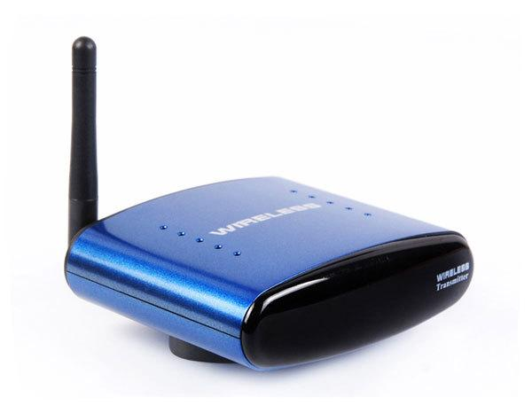 New 5.8GHz Wireless AV Audio Video Sender Transmitter Receiver 200M PAT630
