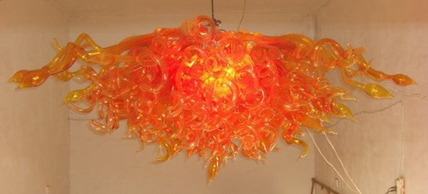 100% Mouth Blown CE UL Borosilicate Murano Glass Dale Chihuly Art Famous Style Unique Design Chandelier