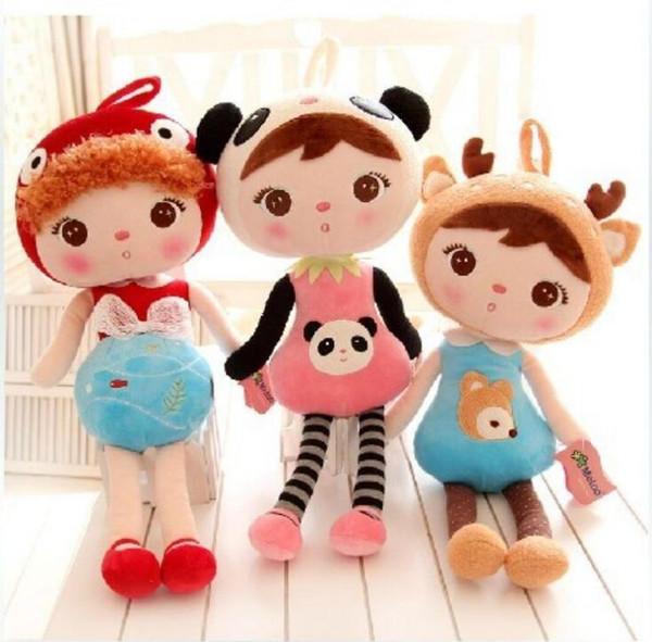 18 дюймов новый Метоо мультфильм чучела животных Анжела плюшевые игрушки спальные куклы для детей игрушки подарки на День рождения дети 8 цветов для выбора