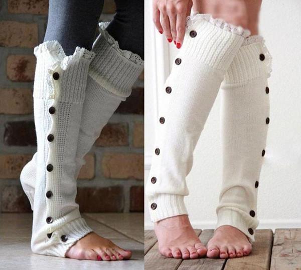 7 Couleur filles dentelle bande bande chaussettes Leggings 2016 NOUVEAU belle filles Dentelle Coton Ruffles Legging Bras Jambières Chaussettes B
