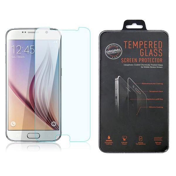 For Samsung Galaxy S6 Edge S4 S3 Note 4 S5 Front Clear Tempered Glass For iphone 6 Plus 5 5S 4 Shatterproof Glass Screen Protector