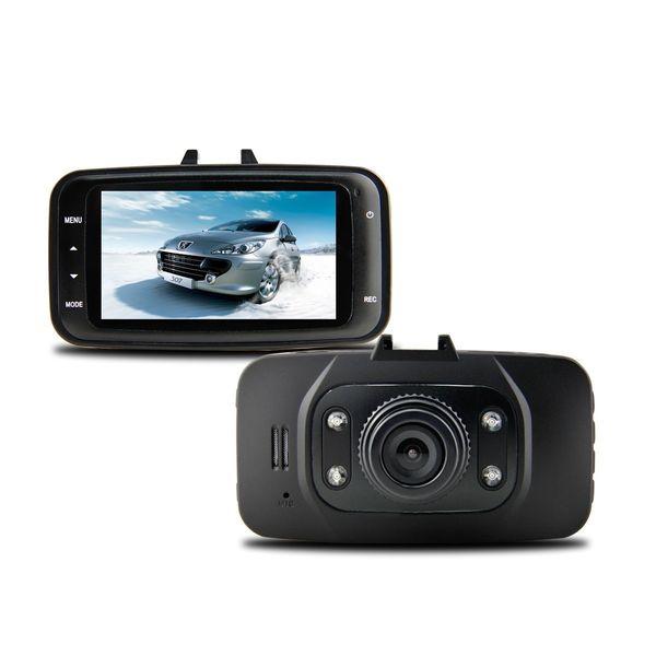 Hot 1080 P 2.7 pulgadas LCD Coche DVR Vehículo cámara de Vídeo Grabadora Dash Cam G-sensor HDMI GS8000L grabadora Del Coche DVR Envío gratis