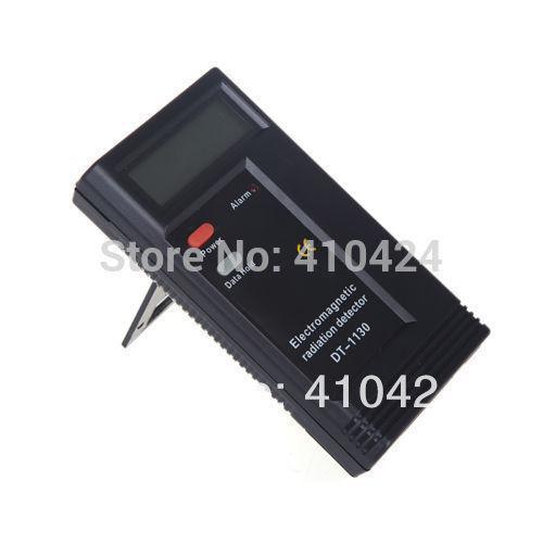 Detector electromagnético de radiación digital LCD Medidor EMF Dosímetro Probador DT-1130 orden $ 18no rastro