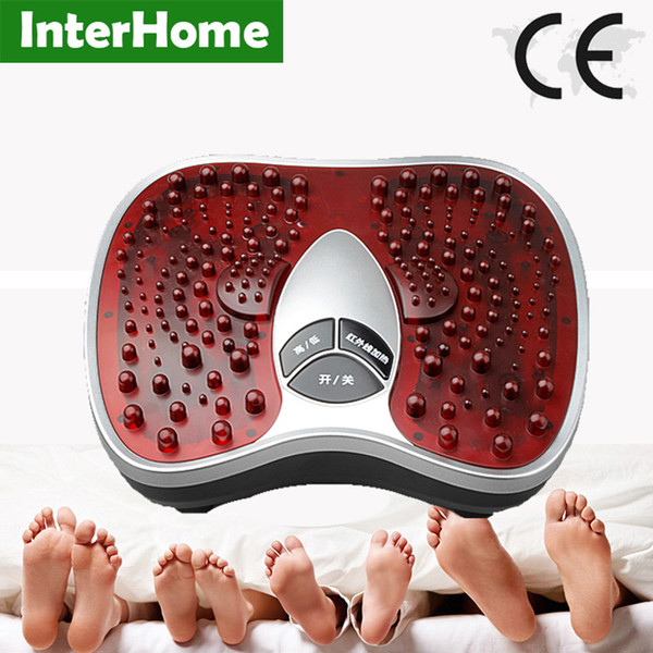 Vibration In Foot >> New Foot Reflexology Electric Vibrating Foot Massage Infrared Heat Therapy Body Relax Blood Circulation Warm Cold Feet Massager Vibration Body