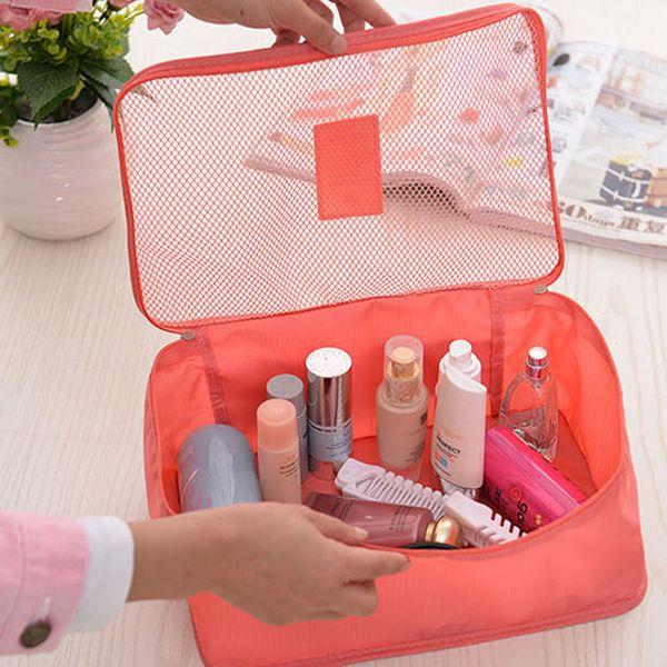 Wholesale- 6pcs/set Travel Organizer Bag Clothes Pouch Storage Case Luggage Suitcase Home Storage Organiser Waterproof Clothes Storage Bags