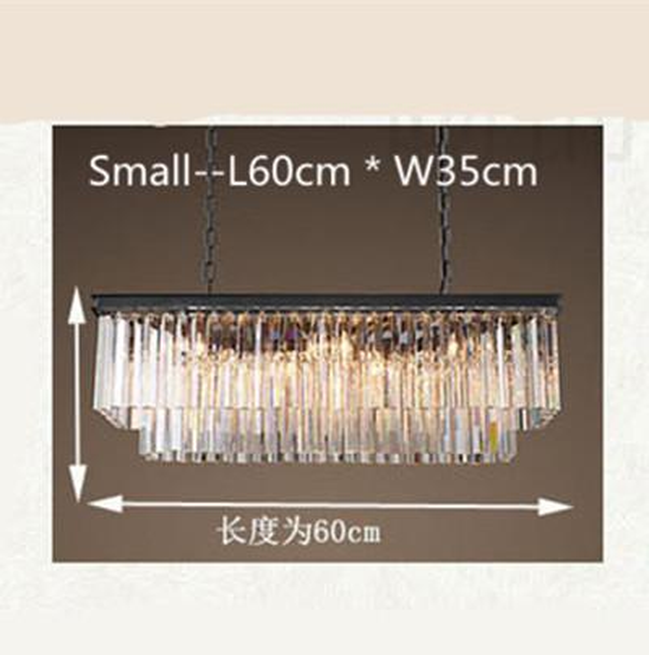 Transparent L60cm W20cm