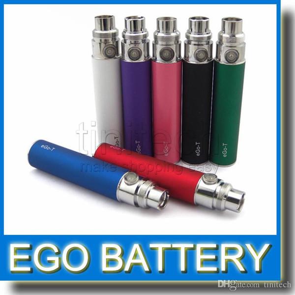 eGo T Battery 650mah 900mah 1100mah for Ego CE4+ CE5 CE6 MT3 Vivi Nova Atomizer Factory Price colorful EGO t battery