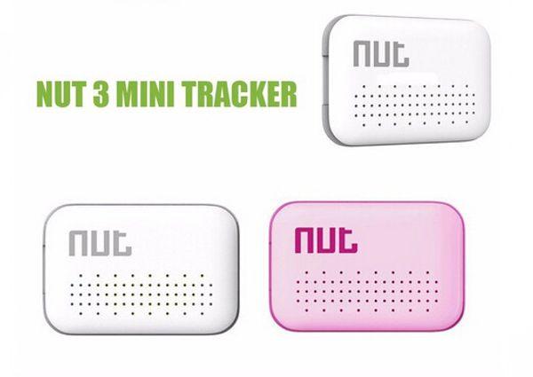 Porca 3 Localizador Inteligente Rastreador Rastreador Localizador de Bluetooth 4.0 Rastreador de Atualização Chave Localizador de Alarme Para iphone Android