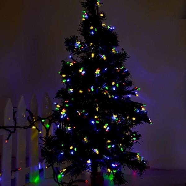 Solar Weihnachtsbeleuchtung.Grosshandel Solar Weihnachtsbeleuchtung 72ft 22m 200 Led 8 Modi Solar Fairy String Lights Fur Outdoor Garten Hauser Hochzeit Weihnachtsfeier