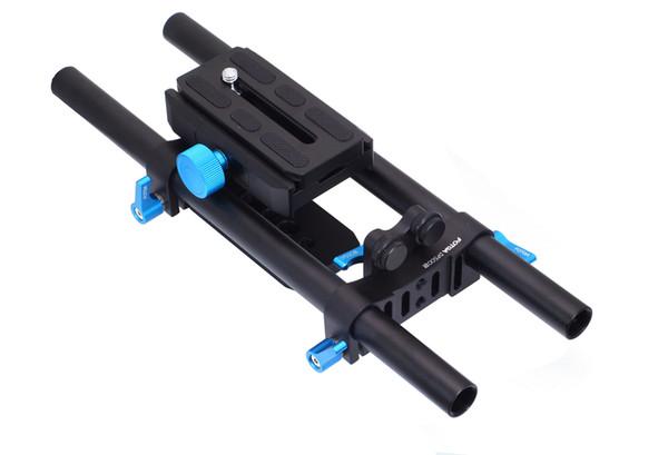 DP500II Quick-Release 15mm Rail Rod Rig Baseplate For DSLR Follow Focus Mattebox