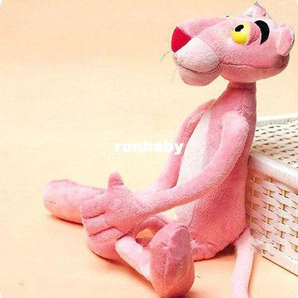 Ребенок подарок милый озорной Розовая пантера плюшевые игрушки куклы домашнего декора 40 см фаршированные плюс животные подарки