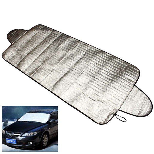 Car-styling Car Covers 192 x 70cm Windscreen Auto Cover Heat Sun Shade Anti Snow Frost Ice Shield Dust Protector