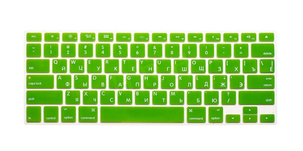 Russian Silicone US Keyboard Cover 3pcs Skin Sticker Protective FILM for Apple Macbook Pro 13 air 15 17 inch For Mac book