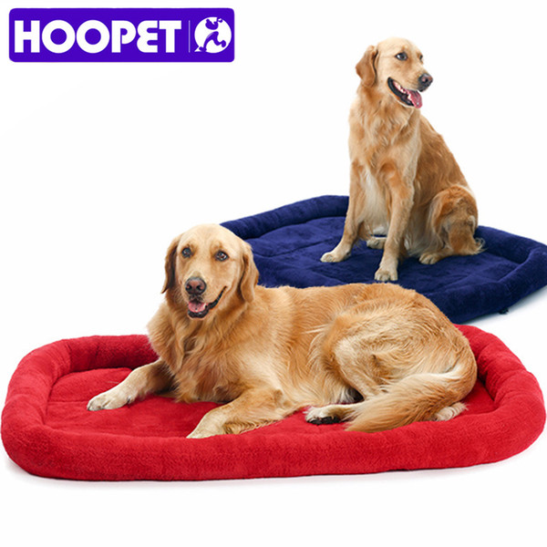 best selling HOOPET Large Dog Bed Large Size Pet Bed Hot Sleeping Cushion Golden Retriever Pet Cage Carpet Pet House L & L Wholesale