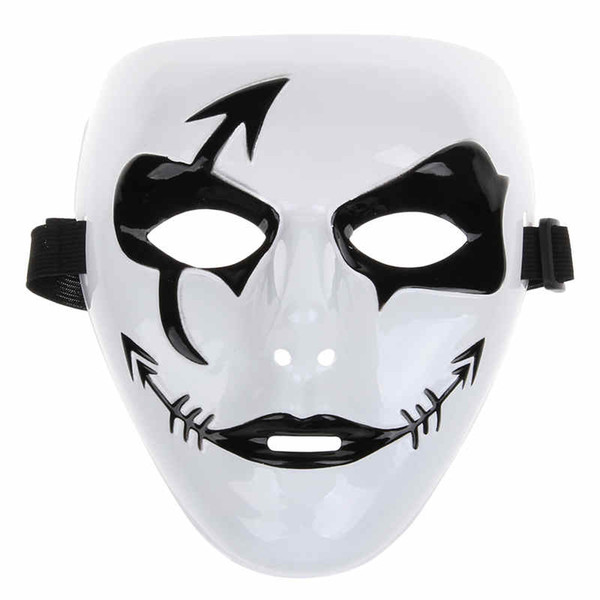 limitierte Anzahl online zu verkaufen Bestseller einkaufen Großhandel Mode Halloween Mardi Gras Maske Weiß Hip Hop Street Dance  Vollgesicht Venezianischen Mens Maskenball Masken Festliche Maskerade Party  ...