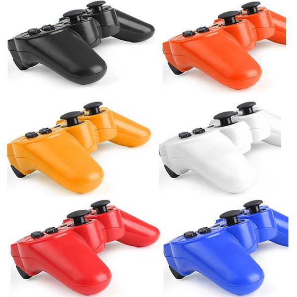 top popular Bluetooth Wireless Game Controller Gamepad Gaming For Sony Playstation 3 PS3 for PC, DHL Freeshipping 2019