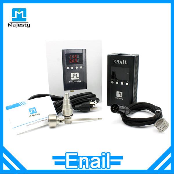 Portátil sin techo Enail mejor venta de cuarzo enail bobina de bobina con 5 pin xlr plug Enail kit Majestad Enail