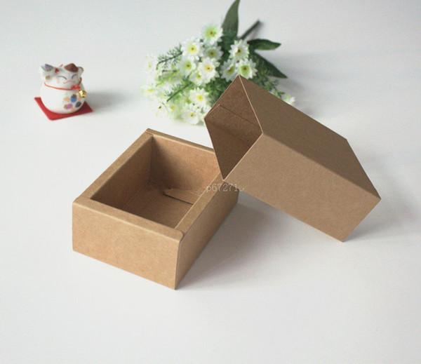 Коробки крафт для подарков