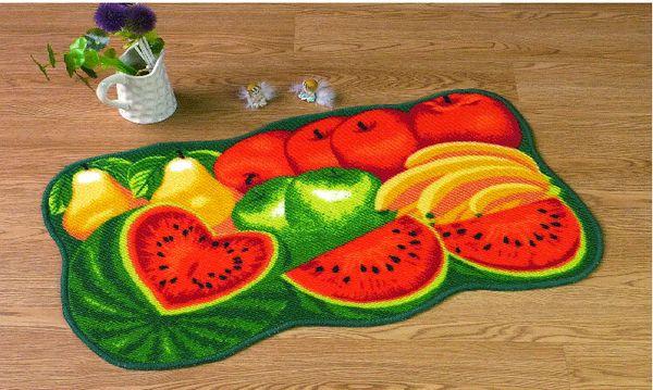 Fruit Carpets Rugs The New Rainbow Carpet Mats Doormat Fruit Shape