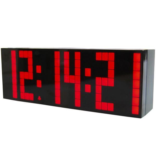 3pcs/lot Large Jumbo LED Digital Calendar Temperature Wall Table&Desk Alarm Luminous Silent Watch Clocks Display Weather Station