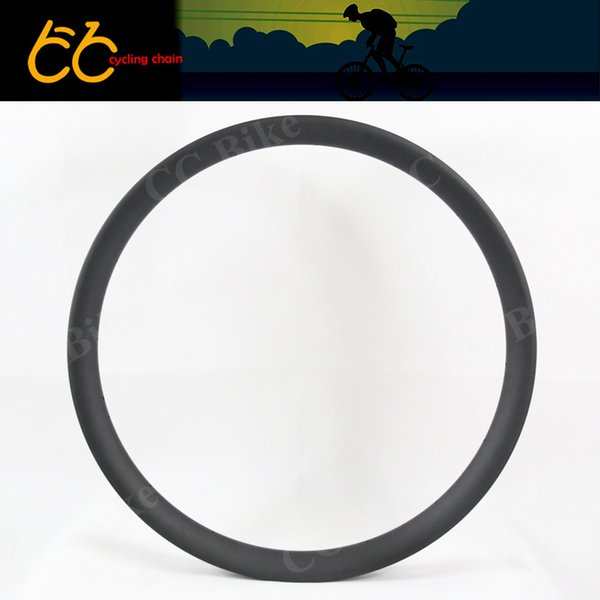 Hotsell of 52mm widely carbon rim 27.5 tubuless&Hookless MTB Rim for Mountain Bike 650B Carbon MTB Rim CC--M34-W52-27.5-A