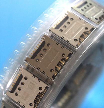 10pcs/lot, for ZTE V5 V9180 U9180, Original new sim card reader socket holder tray module slot ,HK free shipping