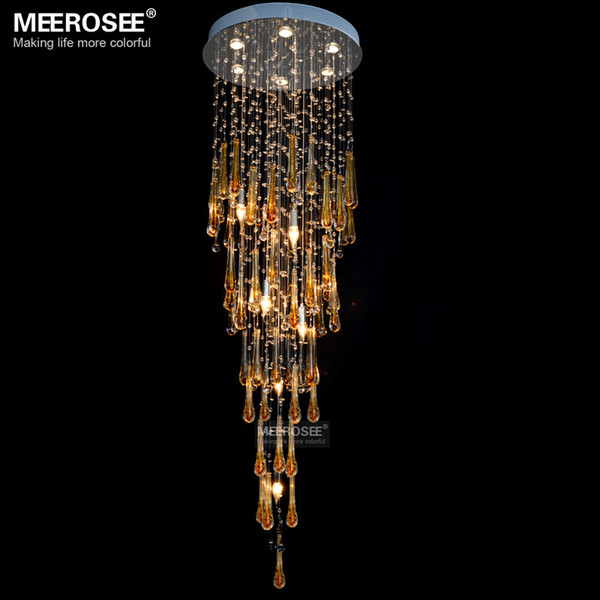 moderne kristall kronleuchter licht leuchte lange groe kristalllampe lustre de kristallleuchter fr foyer hotel kostenfreies - Kronleuchter Fur Foyer