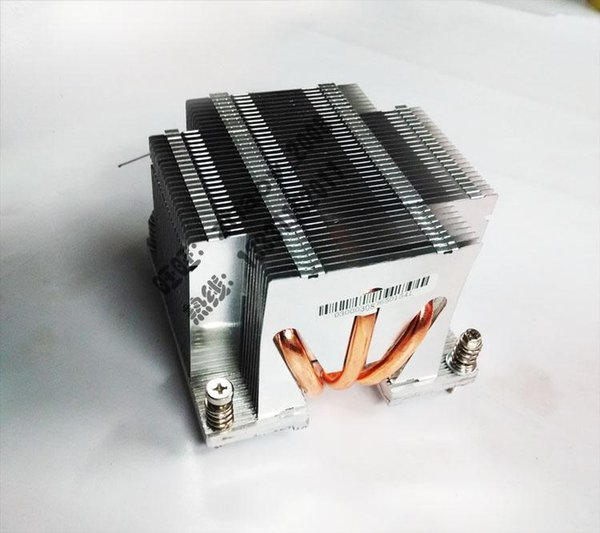 Original Computer Kühlkörper für Lenovo 2U 2011 1366 passive Heatpipe Heizkörper Platz Handwerk gut