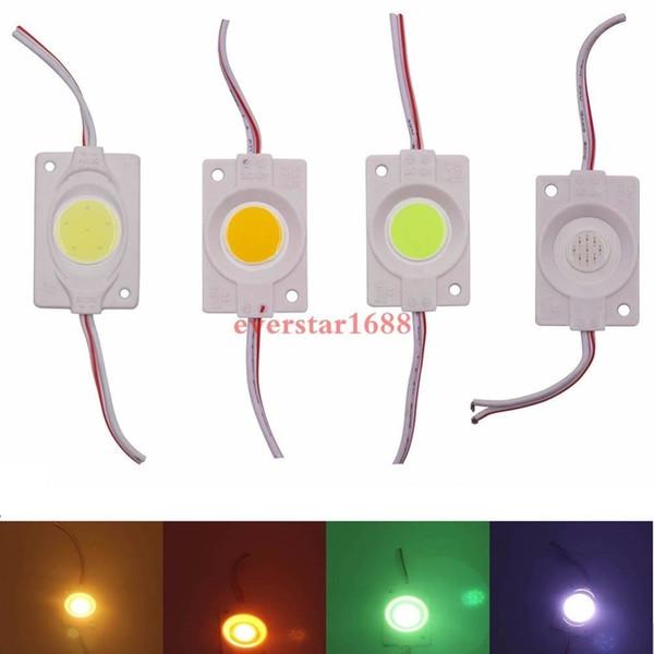 2018 Süper Parlak COB LED Modül 3W Reklam Işık IP65 su geçirmez Led Arka ışıklar Kanal Harf Aydınlatma yap