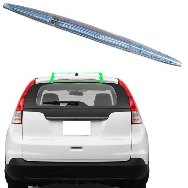 top popular 1pcs For Honda CR-V 2012-14 Red Shell HMSL Tail lights High Mount 3rd Brake Stop Lamp 2019