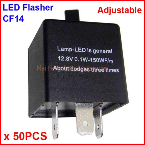 CF14 KT LED Flasher Adjustable Color 3 Pin Electronic Relay Module  Pin Led Flasher Relay Wiring on led flasher wiring diagram, led electronic flasher wiring, led flasher relay schematic, 3 prong turn signal flasher wiring,
