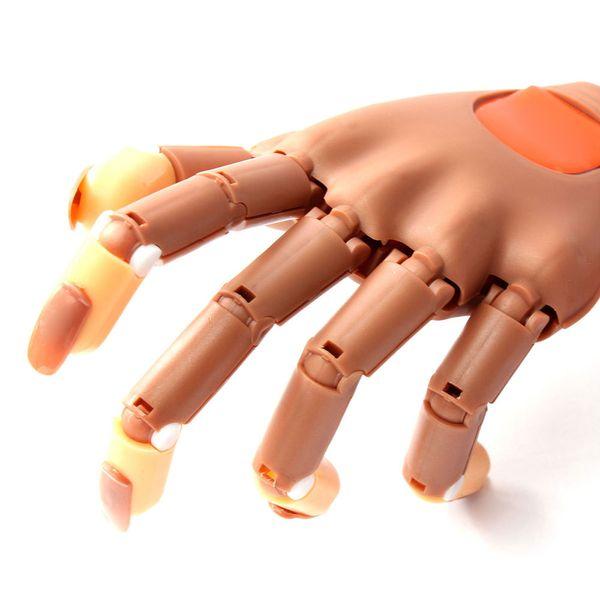 Adjustable Nail Art Model Hand False Nails Nail Practice Hand Clamp ...