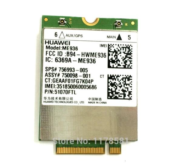 best selling Freeshipping HUAWEI ME936 4G LTE WCDMA HSDPA HSUPA HSPA+ GPRS EDGE NGFF Modules