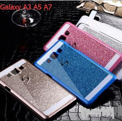 New Samsung S6 Edge Plus Cases Bling Bling Glitter Hard PC Plastic Cell Phone Case For Samsung Galaxy Note5 A3 A5 A7 S6 Edge Plus Christmas