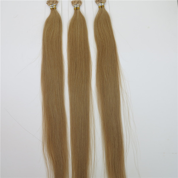 100% Human Hair Flat Tip Hair Extensions Straight Dyeable Brazilian Hair Remy Hair Customize Shedding Tangle Free 25