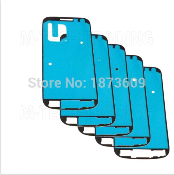 Etiqueta engomada adhesiva adhesiva al por mayor-impermeable del marco frontal del bisel 3M para el Samsung Galaxy S6 Edge S5 S4 S3 S2 mini A7 A5 A3 Nota 4 3 2 5 A8