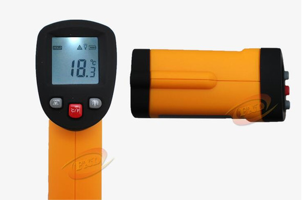 GM550 Non-Contact Laser LCD Display Digital IR Infrared Thermometer Temperature Meter Gun -50 to 550