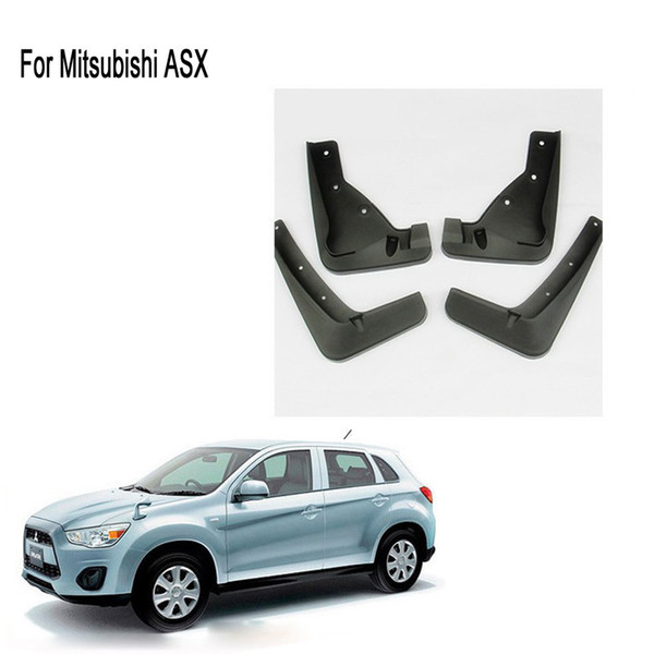 top popular For 2013 2014 2015 MITSUBISHI ASX Mud Flaps Splash Guard Mudguards Mudflap Car Fender for asx accessories 2021