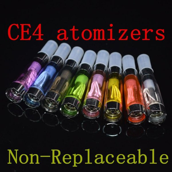 Ecig Tanks eGO CE4 1.6ml 2.4ohm Atomizer Cartomizer 510 eGO-CE4 eGO-T E Cigs For All eGO Series CE5 CE6 CE7 T2