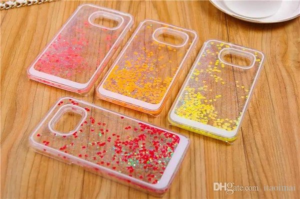 For Galaxy S6 Cases Pure And Fresh Back Cover for iPhone5 5s 6G 6 Plus 6+ Samsung Galaxy S5 S6 Note3 Note4 DHL