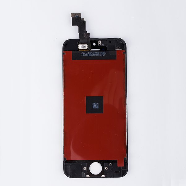 Wholesale-Original A+ Black LCD Display Digitizer For iPhone 5C Touch Screen Digitizer Assembly Replacement for iPhone 5C FreeShipping