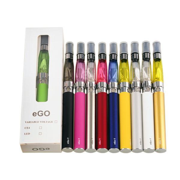 2015 Electronic Cigarette eGo-t CE4 single Starter Kits ego-t 650mAh/900mAh/1100mAh battery usb charger eGo-t CE4 Kit 0211123