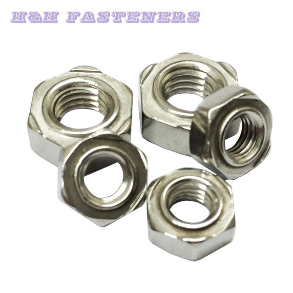 2018 A2 Stainless Steel Hexagon Weld Nut M4 M5 M6 Metric From Hhltd, $3 18  | DHgate Com