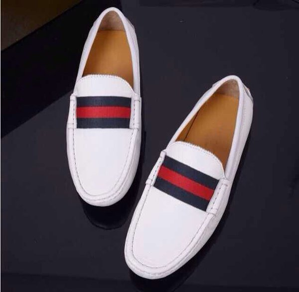 Men loafers shoes men fashion sneakers genuine leather flats shoes latest design male driving boat shoes moccasins