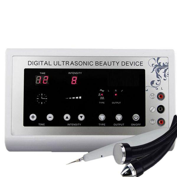 3 in1 1.1MHz Ultrasons Ultrasons peau détachant Mole Enlèvement De Tatouage Thérapie Du Corps Visage dispositif de spa Instrument De Massage Beauté Machine