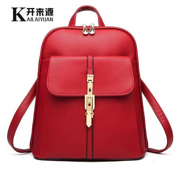 c89d25a4b Classic 2017 Fashion Women's backpack bag school bag handbags shoulder  purse top quality free shipping