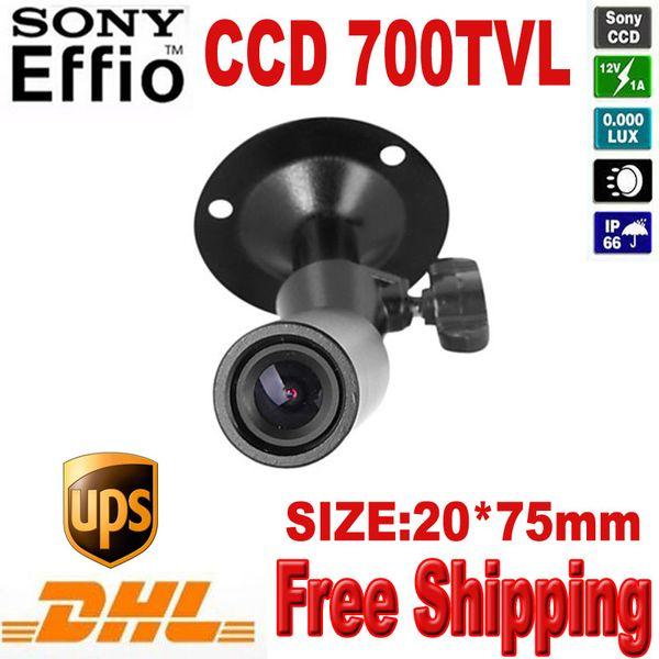 mini bullet camera 960H Effio 700TVL Waterproof Micro Video Surveillance Small Bullet Mini Security CCTV Camera 4140+810\811 frre shipping