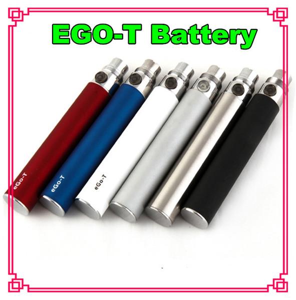 Ego t Battery E Cigarette Ego Batteries for 510 Thread Vaporizer mt3 CE4 CE5 CE6 ViVi Nova DCT atomizer 650/900/1100mah Colorful 510 battery